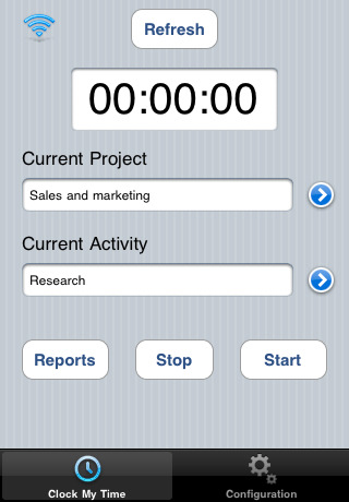 Iphone Time Sheet App, Time Recording App